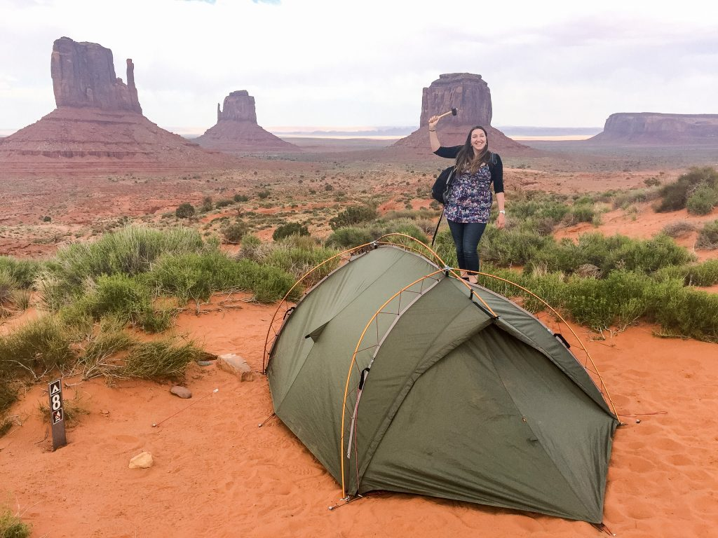 The View Campground in Monument Valley