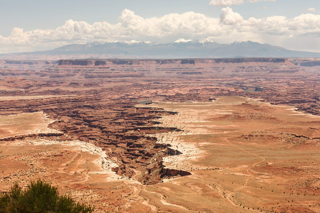 Island in the Sky in Canyonlands National Park