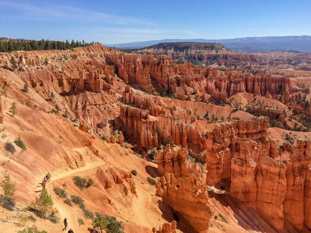 Bryce Amphitheater in Bryce Canyon