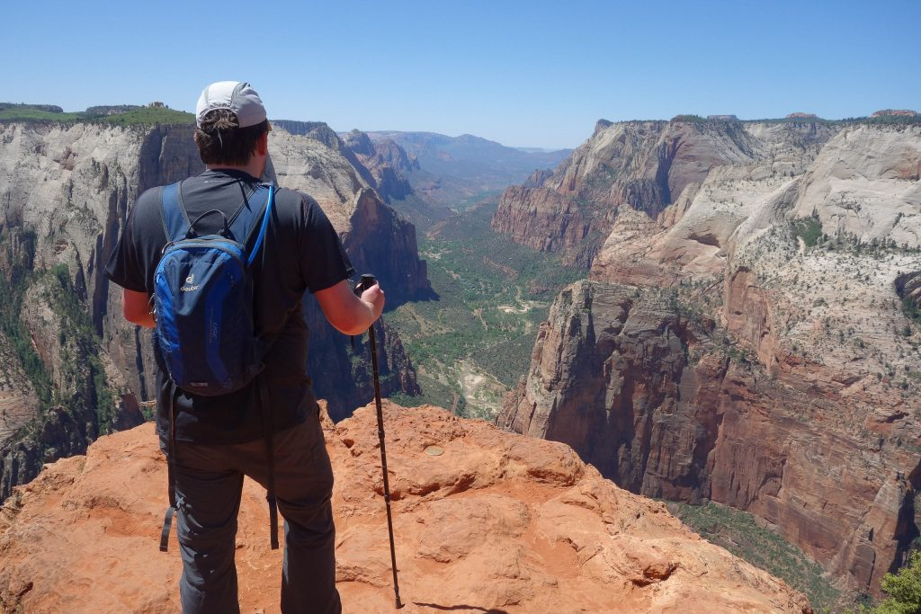 Observation Point in Zion National Park