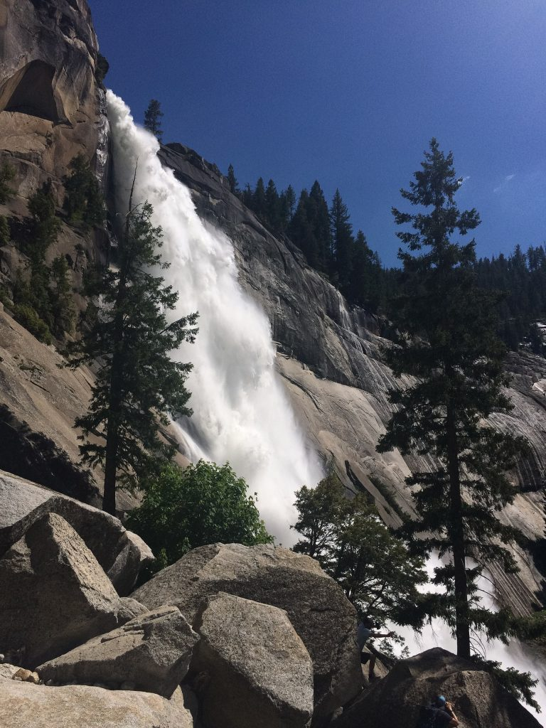 Nevada Falls in Yosemite National Park