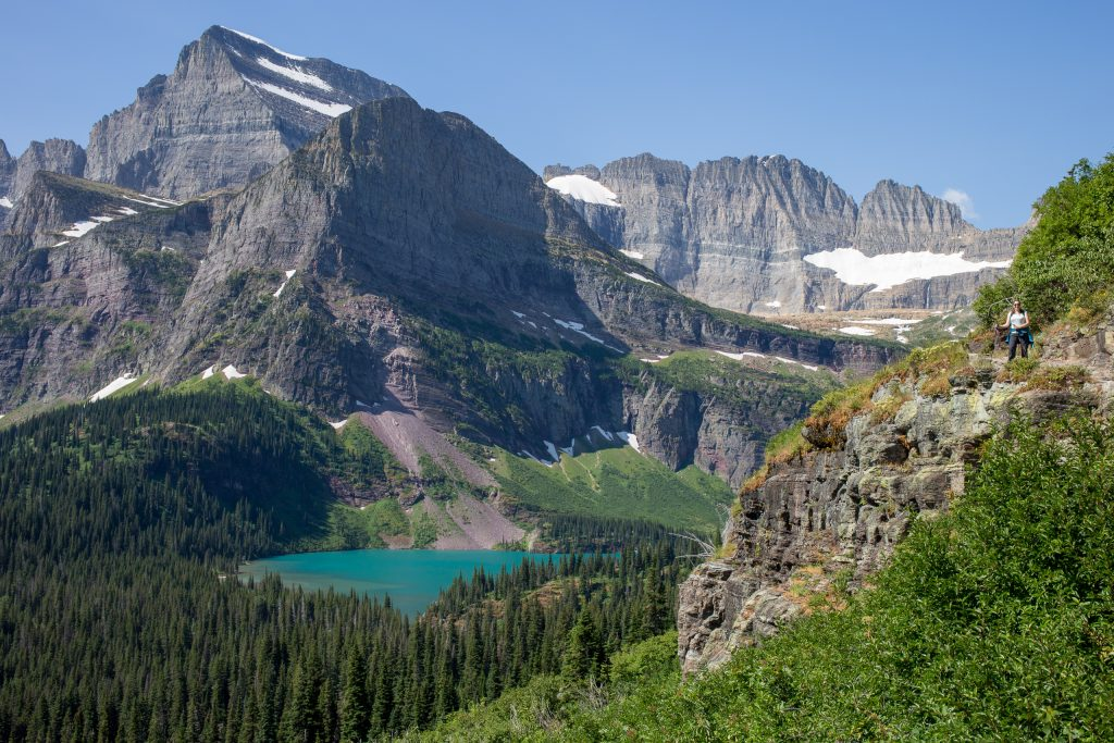 Grinnell Lake in Glacier National Park