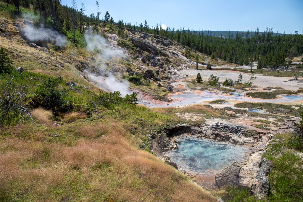 Artists Paintpots in Yellowstone National Park