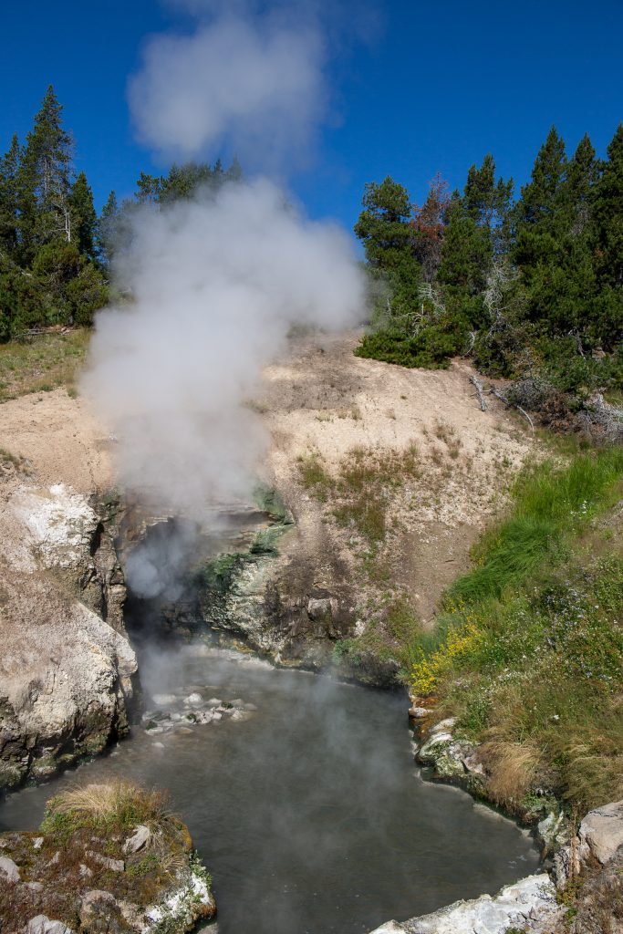 Dragons Mouth Spring, Yellowstone National Park