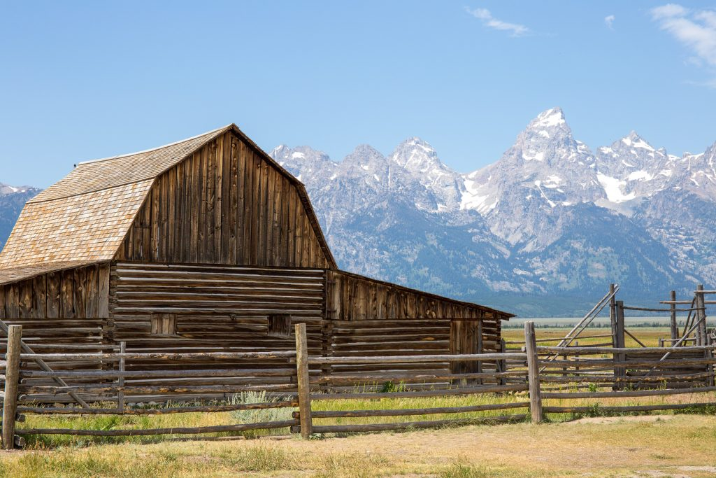 John Moulton Barn - Mormon Row, Grand Teton National Park