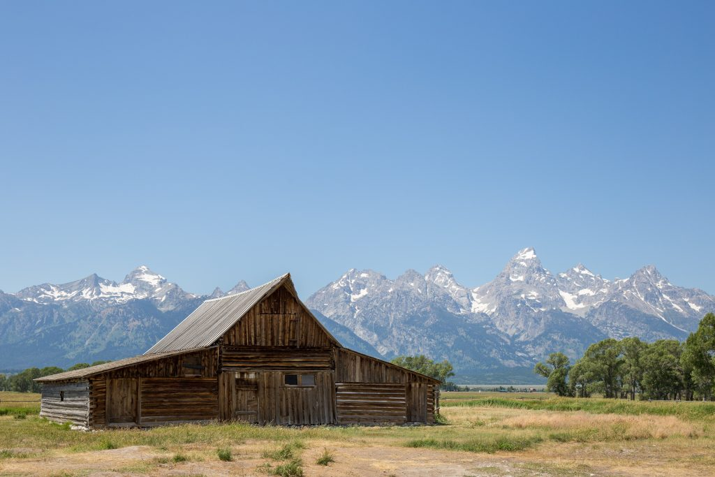 T.A. Moulton Barn - Mormon Row, Grand Teton National Park